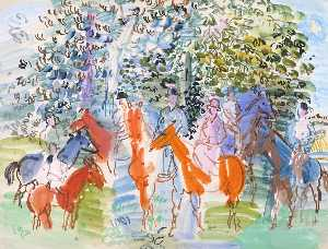 Raoul Dufy - The Kessler Family on Hor..