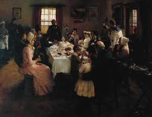 Stanhope Alexander Forbes - The Health of the Bride