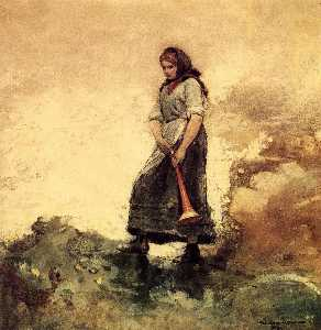 Winslow Homer - Daughter of the Coast Gua..