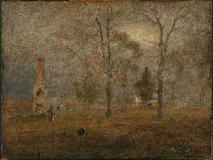 George Inness - Gray Day, Goochland