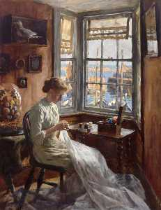 Stanhope Alexander Forbes - The Harbour Window