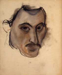 Arshile Gorky - Untitled (Self-Portrait)