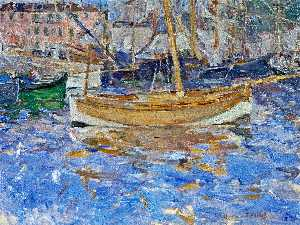 Berthe Morisot - The Port of Nice