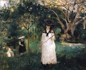 Berthe Morisot - The Butterfly Hunt