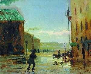 Fyodor Alexandrovich Vasi.. - After a Rain (Spring in S..