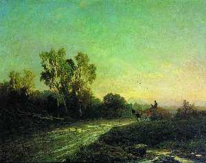 Fyodor Alexandrovich Vasi.. - After a Rain