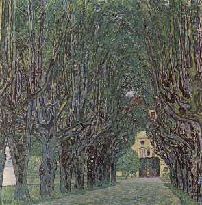 Gustav Klimt - Avenue of Schloss Kammer ..