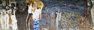 Gustav Klimt - The Beethoven Frieze: The..
