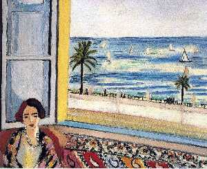Henri Matisse - Seated Woman, Back Turned..