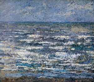 Jean Theodoor Toorop - The Sea at Katwijk