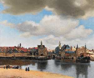 Jan Vermeer - View on Delft