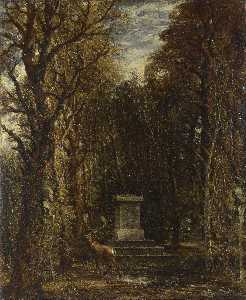 John Constable - Cenotaph to the Memory of..