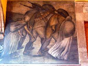 Jose Clemente Orozco - Revolutionaries on the ma..