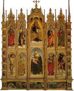 Luca Signorelli - Polyptych