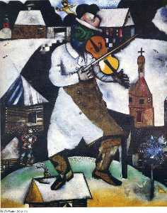 Marc Chagall - The Fiddler