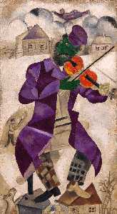 Marc Chagall - The Green Violinist