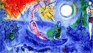 Marc Chagall - The Concert