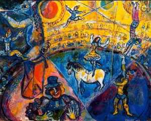 Marc Chagall - The circus