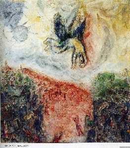 Marc Chagall - The Fall of Icarus