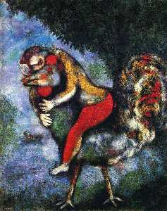 Marc Chagall - The Rooster