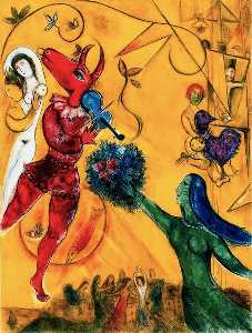 Marc Chagall - The Dance