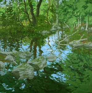 Neil Gavin Welliver - Maine Woodland.png