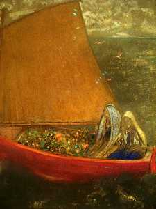 Odilon Redon - The Yellow Sail