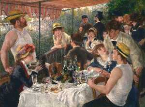 Pierre-Auguste Renoir - The Luncheon of the Boating Pa..