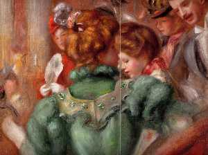 Pierre-Auguste Renoir - A Box in the Theater des Varie..