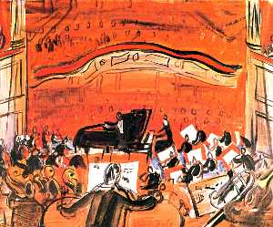 Raoul Dufy - The Red Concert