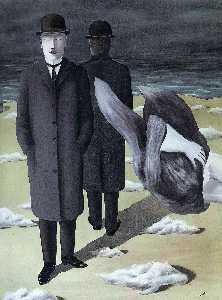 Rene Magritte - The meaning of night