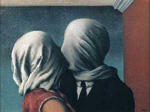 Rene Magritte - The lovers