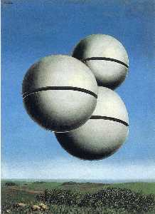 Rene Magritte - The voice of space