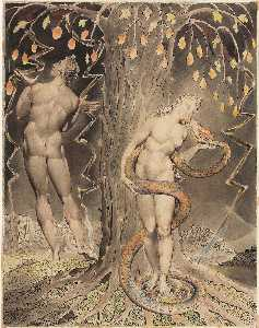 William Blake - The Temptation and Fall o..