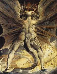 William Blake - The Red Dragon and the Wo..