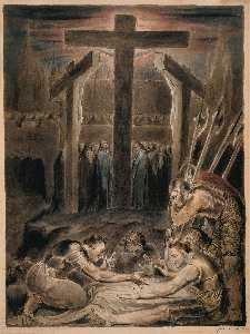 William Blake - The Soldiers Casting Lots..