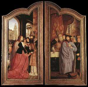 Quentin Massys - St Anne Altarpiece (close..