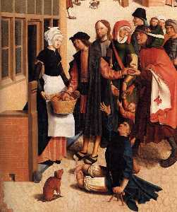 Master Of Alkmaar - The Seven Works of Mercy ..