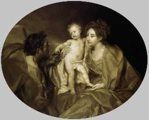 Anton Raphael Mengs - The Holy Family
