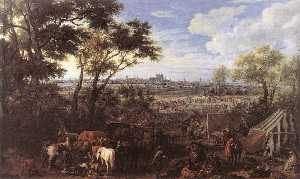 Adam Frans Van Der Meulen - The Army of Louis XIV in ..