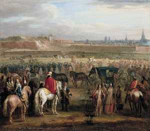 Adam Frans Van Der Meulen - The Surrender of Cambrai