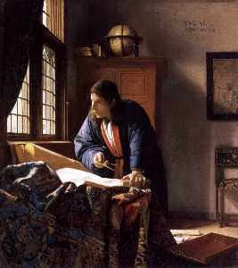 Jan Vermeer - The Geographer