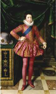 Frans The Younger Pourbus - Louis XIII as a Child