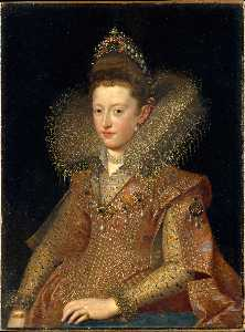 Frans The Younger Pourbus - Portrait of Eleonora of M..