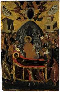 Andreas Ritzos - The Dormition of the Virg..