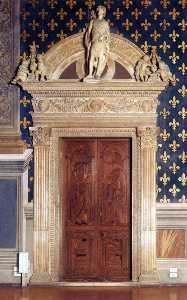 Benedetto Da Maiano - West wall portal of the S..