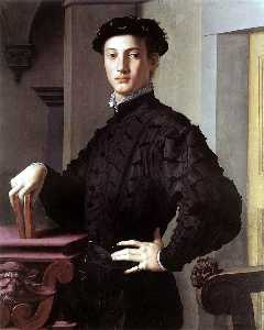 Agnolo Bronzino - Portrait of a Young Man