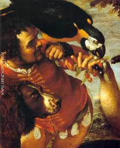 Agostino Carracci - Hairy Harry, Mad Peter an..