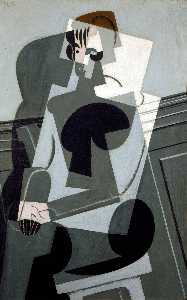 Juan Gris - Portrait of Madame Josett..
