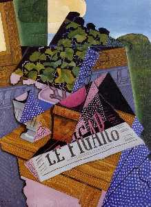 Juan Gris - A Pot of Geraniums